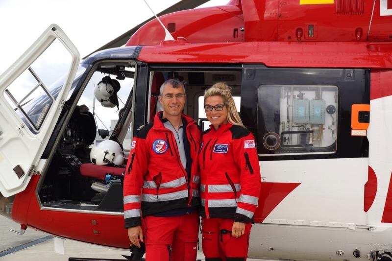 Pilot und Notärztin