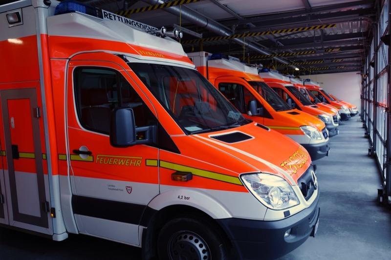 Rettungswagen bei der Kieler Feuerwehr